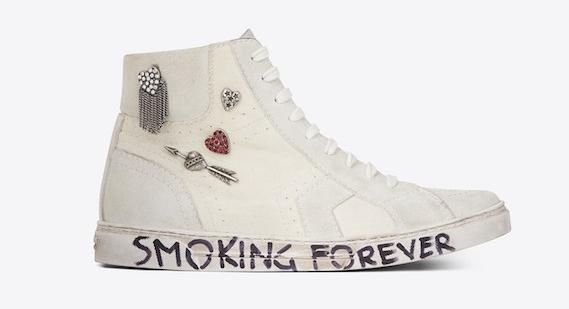 St. Laurent Joe's Mid Top Sneaker