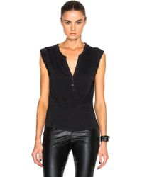 Pam and Gela black top